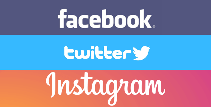 Facebook・Twitter・Instagram