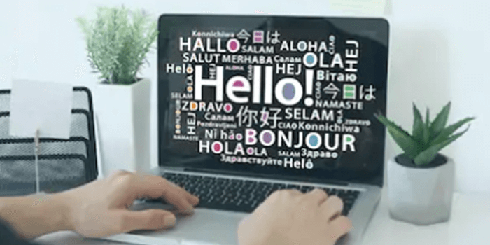 多言語型のホームページ